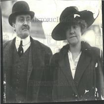 1917 Press Photo James Gerard Ambassador wife Berlin