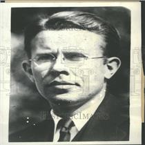 1934 Press Photo EO Lawrence Physicist Cyclotron Ray