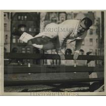 1932 Press Photo King Levinsky Training for Fight with Mickey Walker - sbs04225