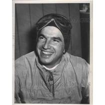 1957 Press Photo Skiing instructor, Bert Fisher - sps02849