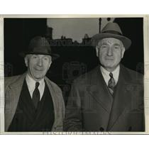 1941 Press Photo Harry & Albert Warner of Warner Bros Pictures at New York Trial