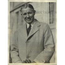 1934 Press Photo AN Bo McMillan at University of Indiana as coach - sbs04390