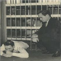 1934 Press Photo Denver County Jail Escape Attempt