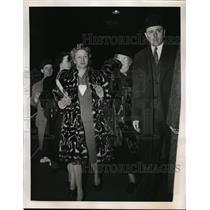 1943 Press Photo New York Mr & Mrs Karl L. Rankin Home From Internment Camp NYC