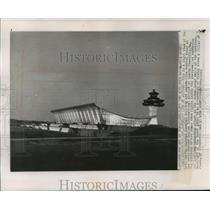 1962 Press Photo Terminal Building, Dulles International Airport - mja55812