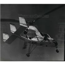 1965 Press Photo Gyroplane at General Mitchell Field - mja59249