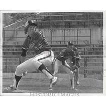 1977 Press Photo Clarkston baseball player, Tim Hallgren - sps03320
