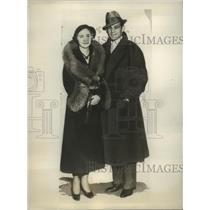 1931 Press Photo Lightweight Champ Al Singer to Marry Belle Becker - sbs04928