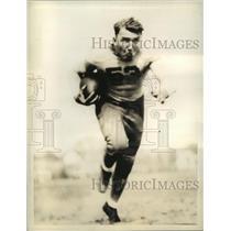 1934 Press Photo Joe Denyanovich University of Alabama full back - sbs04375