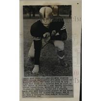 1947 Press Photo Bennie Davis of West Point Football - sbs05729