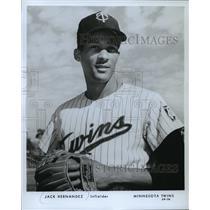 1969 Press Photo Minnesota Twins Infielder Jack Hernandez - mja56362