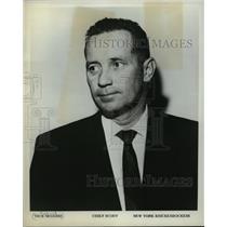 1970 Press Photo Dick McGuire, New York Knicks Basketball Scout - mja56732