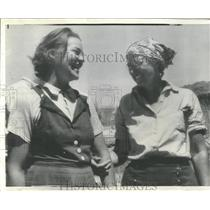 1938 Press Photo Woman place home Lois Jotter Alzada