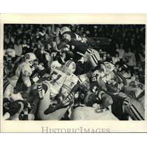 1986 Press Photo Green Bay Packers Football Player Gary Ellerson - mja58176