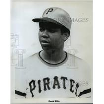 Press Photo Pittsburgh Pirates Player, Dock Ellis - mja58681