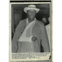 1972 Press Photo San Francisco Giants Player Willie McCovey After Injury