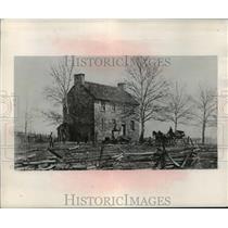 1950 Press Photo Stone House, Bull Run, Virginia - mja53820