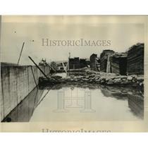 1927 Press Photo Miss. floods at Vicksburg - mja55140