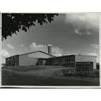 1957 Press Photo New National Guard Armory to be Dedicated Iron River, Michigan