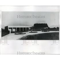 1972 Press Photo Hall of Valor on Site of the 1864 Battle of New Market Virginia