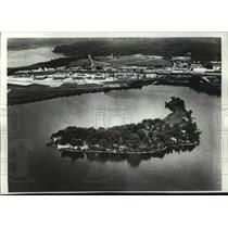 1979 Press Photo Chopawamsic Island is For Sale for $800,000 in Virginia