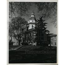 Press Photo Maryland State House in Annapolis, Maryland - mja56418