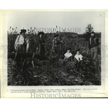 1901 Press Photo August, Sarah, Tena, Jennie, and Alex Krueger of Wisconsin