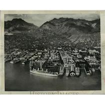 1940 Press Photo 40 Years have Wrought Immense Change on Honolulu Harbor