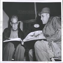 1951 Press Photo C. Turner Joy & Matthew B. Ridgway - RRY07121