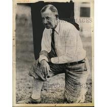 1934 Press Photo Andy Kerr, Colgate University Football Coach - neo02840