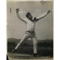 1921 Press Photo Jim Scott, Cheerleader for University of Pittsburgh - neo04746