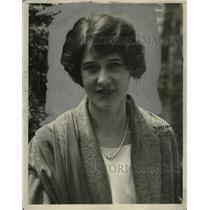 1924 Press Photo Elsie Ferguson, Actress - neo03564