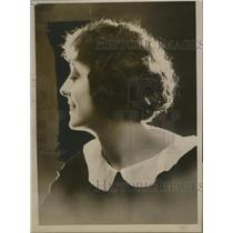 1924 Press Photo Odette Jacqueline French Actress - neo03716