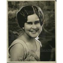 1928 Press Photo Miss Eliska Tobin, New Orleans Queen of 12th Night Revelers