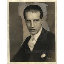 1930 Press Photo Cecil Lewis, NBC Radio Producer - neo07368