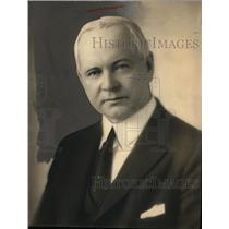 1930 Press Photo Commissioner William P. Rutledge of Detroit Police Department