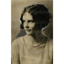 1927 Press Photo Miriam Stephenson of Wisconsin - neo04531