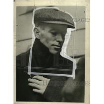 1918 Press Photo Dimiter Popoff, Arrested for Murder, Atlanta, Georgia