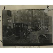 1927 Press Photo Cyclone damage in St. Louis, Missouri - neo06235