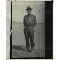 1929 Press Photo Wheat King Ed M. Carter of Planview, Texas - neo06801