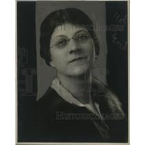 1927 Press Photo Mrs. H.E. Ginsberg - neo07116
