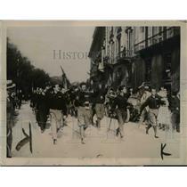 1922 Press Photo Fascisti Threaten Seizure Of Italian Government - nep04235