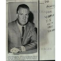 1968 Press Photo Governor Spiro T. Agnew Republican vice presidential candidate