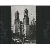 1916 Press Photo Chihuahua Cathedral Equipped Mexico