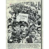 1969 Press Photo Reverend Ralph David Abernathy of South Christian Leadership
