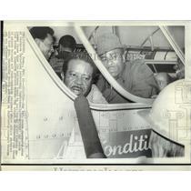 1969 Press Photo Reverend Ralph Abernathy head of Southern Christian Leadership