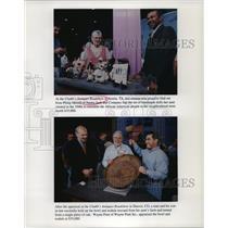 2001 Press Photo Chubb's Antiques Roadshow in Texas and Colorado - noa15257
