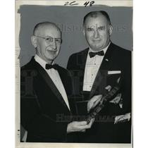 1969 Press Photo Dr. John Adriani, Charity Hospital-Italian American of the Year