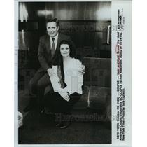 1989 Press Photo Vicki and Keith Brand, the Ideal American Couple - noa15638