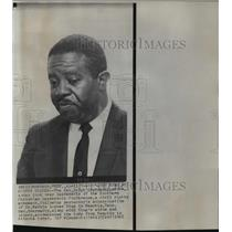 1968 Press Photo Rev. Ralph Abernathy after Martin Luther King's assassination